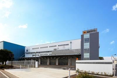 京浜島トリニティーセンターの外観