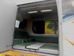 荷台スペースの写真