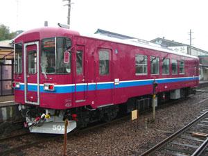 (写真)長良川鉄道の車両